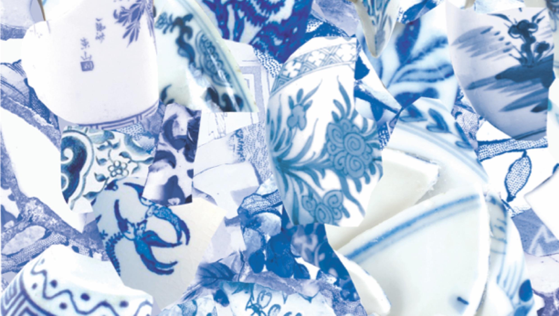 Royal Blue & White