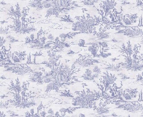 Lavender Toile De Juoy