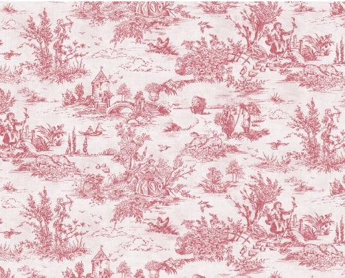 Pink Toile De Juoy